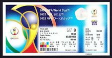 2002 World Cup CROATIA v MEXICO *Mint Condition UNUSED Ticket*