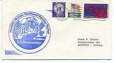 Humble's Maiden Northwest Passage Voyager S.S. Manhattan Polar Antarctic Cover