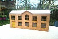 Warehouse Factory Laser cut Scratch Aid Layout Kit OO Gauge 4mm Model Railway