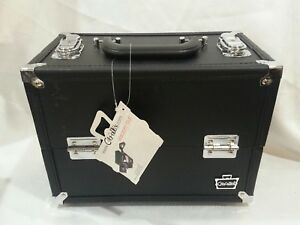 #C Damaged new caboodles train case makeup cosmetic organizer steppin out