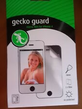 4 x iPhone 4/4s, Includes 2 screen guards Gecko guard mirror film, Brand New