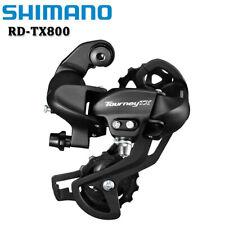 SHIMANO Tourney RD-TX800 7/8 Speed MTB Mountain Bike Rear Derailleur Black