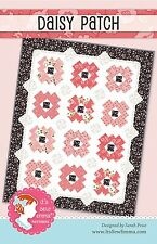 """DAISY PATCH Quilt Pattern by It's Sew Emma ~ Finished Size 57.5"""" x 72.5"""""""
