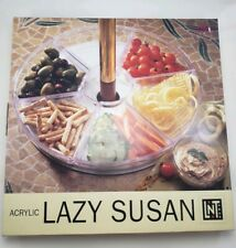 Linens N Things Lazy Susan Acrylic Seven Section Serving Tray