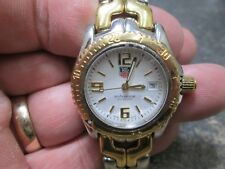 LADIES Tag Heuer Professional 18K GOLD Stainless Steel 200 METERS Running Watch