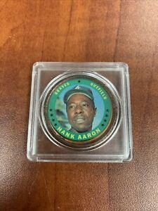 1971 Topps Hank Aaron Coin #137 VG