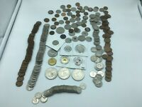 Large Lot of Canada and USA Coins Canadian Coin Collection 3232