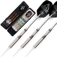 Cuesoul Soft Tip Tungsten Darts 16 Grams Precise Barrels Dart Set Black Case