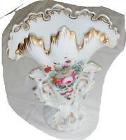 Vase de mariée en porcelaine de Paris fin 19 ieme