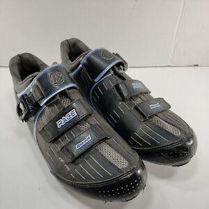 Bontrager Race Road Inform Cycling Shoes Men's Size 14.5 Black Clipless Biking