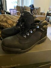 Timberland Men'Field Boots -Black Worn 3 Times Tops