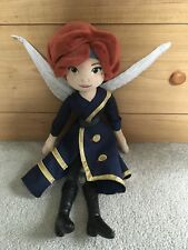 "Disney Store -Zarina The Pirate Fairy Plush from Tinkerbell Movie- 20""- RARE!"