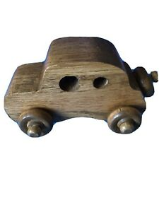 Hand Made Toy Wooden Car