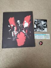 U2 2005 VERTIGO North America Tour Program, Button,Ticket, CD Insert/Poster