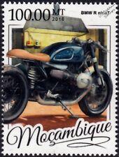 BMW Motorrad R NineT Motorcycle Motorbike Stamp (2016 Mozambique)