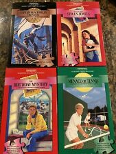 bePuzzled Jr Mystery Jigsaw Puzzles Lot MENACE OR TENNIS STOLEN JEWELS