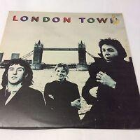 "Wings 'London Town' VG/VG Classic McCartney Vinyl LP 12"""