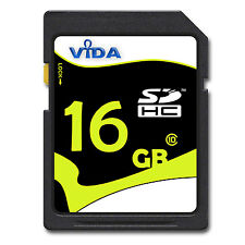 Nuovo Vida IT 16GB SD SDHC Scheda di Memoria Class UHS-1 Per Nikon Coolpix P600