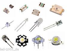 Flux LED Flachkopf,Kurzkopf,Power,Blink,RGB,Mini,2mm,3mm,5mm,8mm,10mm,plcc6,5050