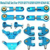 Metal Full Set Upgrade Parts For 1:28 WLtoys P939 K979 K989 K999 K969 RC Car #BS