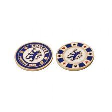 Chelsea Football Club Crested CASINO 'POKER CHIP PALLA DA GOLF CONTRASSEGNO GRATIS UK P & P