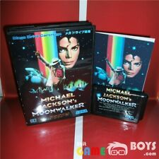 Michael Jackson's Moonwalker Japanese Cartridge SEGA Mega Drive Japan Cart Boxed