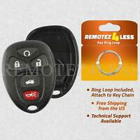 for Buick Cadillac Chevy GMC Keyless Remote Car Entry Key Fob Shell Case 5btn