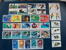 THE OLYMPIC GAMES-Collection of 36 stamps