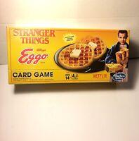 Stranger Things Eggo Waffle Card Game Hasbro Netflix Collectible Memorabilia New