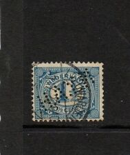 "NETHERLANDS 1 1/2c BLUE WITH ""H.A.Y.N."" Perfin"