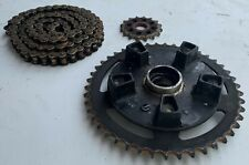 Suzuki GSXR 600 750 2004 2005 Sproket Front (16) and Rear (45) + Chain