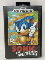 Sonic The Hedgehog (Sega Genesis) Complete Retail / ESRB Rated Tested Authentic