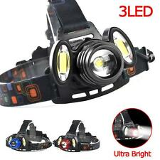 Zoomable NEW 3X LED Headlight 22000 Lm 4 Modes lumineux superbe vélo lampe B2