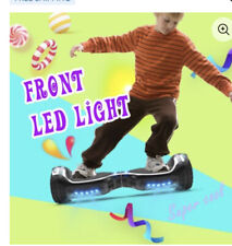 Hoover Board All-Terrain Led Flash wide wheels with Bluetooth speakers