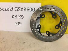 SUZUKI GSXR600 REAR BRAKE DISC K8 K9 08 09 10 BREAKING SPARE 01 02 03 40 05 06