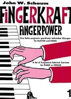 Klavier Noten : SCHAUM Fingerkraft Fingerpower 1 sehr leicht Anfänger - BOE 3570