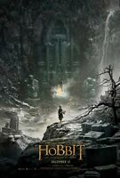 THE HOBBIT THE DESOLATION OF SMAUG DOUBLE SIDED ORIGINAL MOVIE film POSTER Bilbo