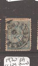 Norway 1867 4Sk SG 14 CDS VFU (1cas)