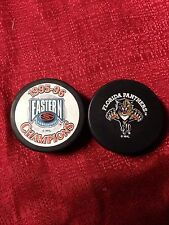 1995-96 Florida Panthers NHL Eastern Conference Champions Hockey Puck