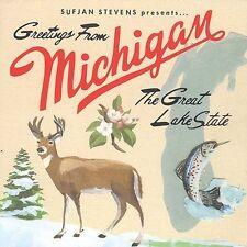 Sufjan Stevens Greetings from Michigan: The Great Lake State CD