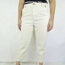 43b5e8aff57 Madewell Women s Size 31 Beige Tapered Leg Ankle Jeans High Waist NWOT