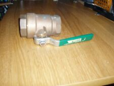 WATS REGULATOR 1-1/2 inch, 1-1/2'' IPS Threaded Brass Ball Valve,