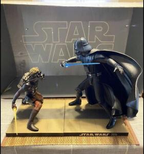 kotobukiya star wars Ralph McQuarie Darth Vader & Luke Skywalker