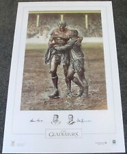 THE GLADIATORS  NORM PROVAN  ARTHUR SUMMONS  HAND SIGNED LIMITED EDITION