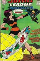 Justice League of America #60 Silver Age February 1968 Early Batgirl Appearance