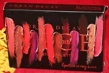 URBAN DECAY VICE LIPSTICK PALETTE BLACKMAIL BRUSH FULL SIZE NEW IN BOX AUTHENTIC