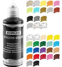 Window Color Farbe Glasmalfarbe 16 Sonderfarben und Konturen je 80ml - Angebot 2