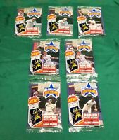 1986 Donruss Major League All Stars Pop-Up Packs 7 Count Unopened
