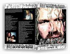 Raven Shoot DVD WWE WWF WCW ECW Heyman Sandman Dreamer Goldberg US Champ AEW DX