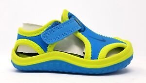 344925-403 Nike Toddler Sunray Protect TD Vivid Blue/Green Abyss-Volt